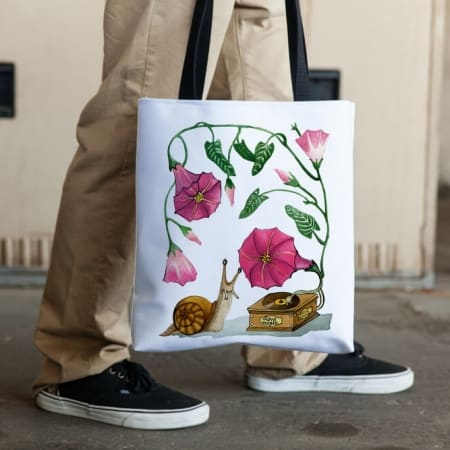 Deyana Deco - LOVE MUSIC All Over Tote Shopping