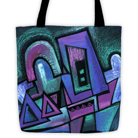 Deyana Deco - WINTER NIGHT All Over Tote