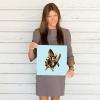 Deyana Deco - YELLOW FISH Poster 12x12