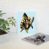Deyana Deco - YELLOW FISH Poster 8x10